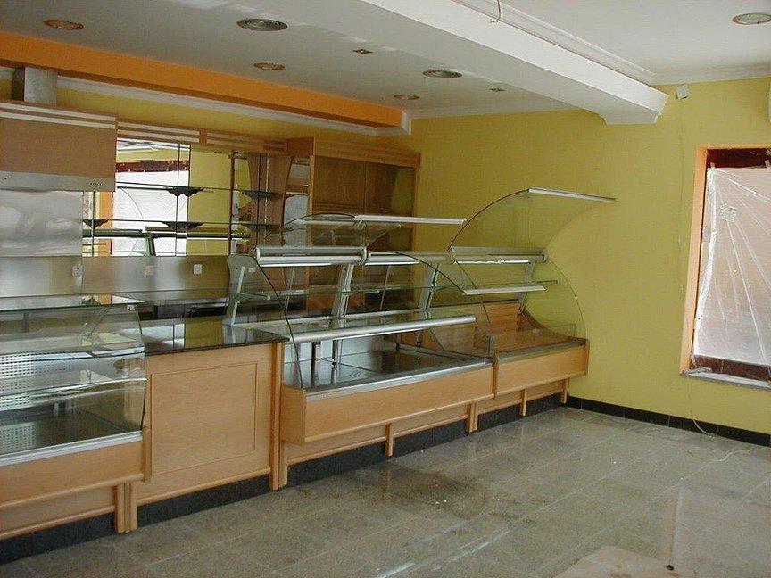 Vitrines padaria, pastelaria e cafetaria